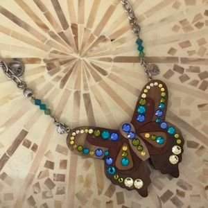 Jewelry - Tarina Tarantino butterfly necklace